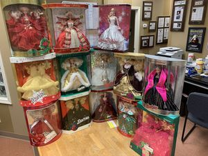 Holiday Barbie Set 1988-2008 for Sale in Murfreesboro, TN