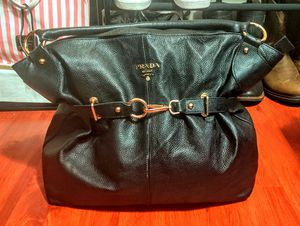 Prada Black Leather Large Hobo Bag for Sale in Santa Ana, CA