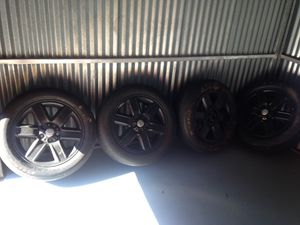 Four(4) 245/55R19 Wheels (Rims & Tires) Five(5) Lugs $99 obo. Tires are shot no good Fit Land Rover for Sale in Indian Head, MD