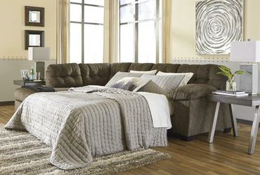 Accrington Earth LAF Queen Sleeper Sectional for Sale in Austin,  TX