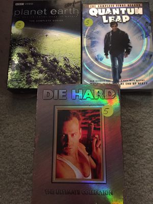 Cheap dvd quantum leap die hard collection planet earth BBC for Sale in Cooper City, FL