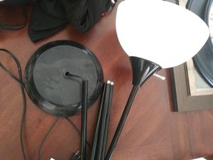 Black floor lamp for Sale in Elgin, IL