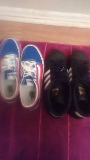 Adidas shell toes, Vans for Sale in Tallahassee, FL