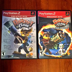 PS2: RATCHET & CLANK 🔥2 Pack Of Video Game Doom🔥 for Sale in Leominster, MA