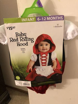 Baby Red Riding Hood Costume for Sale in Milpitas, CA
