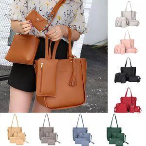 Crossbody Bags for Women 4 PCS Woman bag Shoulder Bag Messenger Bag Wallet Handbag sac main femme luxury handbags Bolsa Feminina for Sale in Orlando, FL