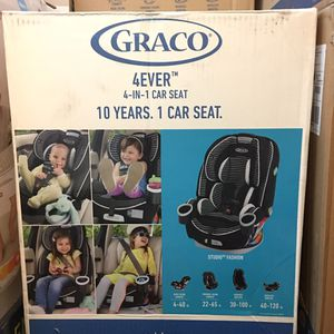 Graco 4Ever 4 in 1 baby car seat - New for Sale in Riverside, CA