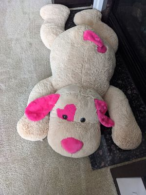 Extra large 4 ft puppy dog plushy for Sale in Charles Town, WV