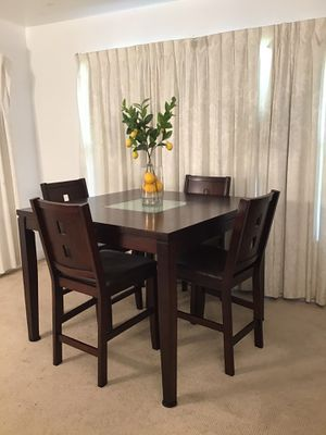 Counter Height Table 4 Chairs for Sale in Norwalk, CA