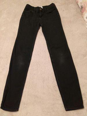 Abercrombie Kids Super Skinny Black Jeans Size 13/14 Slim for Sale in Los Angeles, CA
