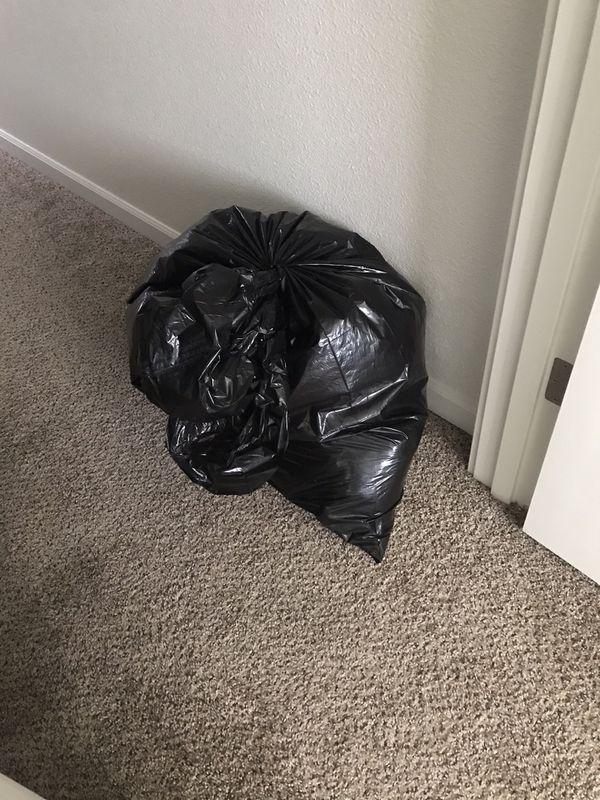 Big bag of clothes