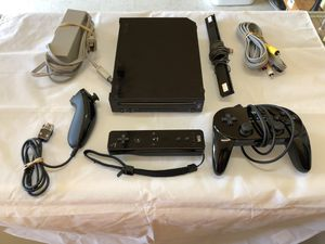 Black Wii Set (N64 & SNES games installed) - PRICE FIRM for Sale in Portland, OR