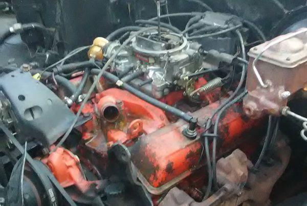 350 motor& 350transmission