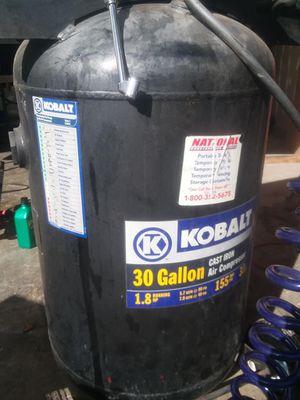 30 gallon uprigt Kobalt compressor for Sale in Colton, CA