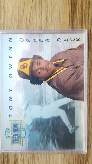 Tony Gwynn 1993 Upper Deck Then & Now Baseball Card for Sale in Scottsdale, AZ
