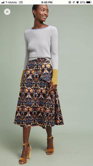 Anthropologie Whimsy Midi Skirt *never worn* for Sale in Boston, MA