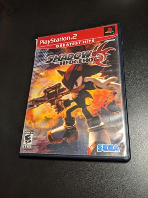 Shadow the hedgehog PS2 for Sale in Sacramento, CA