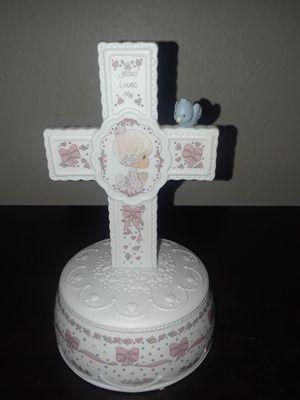 Precious Moments Music Box Jesus Loves Me for Sale in Tampa, FL
