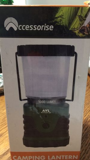 1000 lumens camping lantern for Sale in Columbia, PA