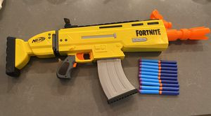 Fortnite nerf gun 10 extra bullets! for Sale in Seattle, WA