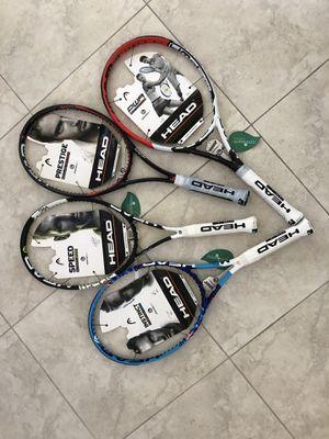 "Tennis rackets ""HEAD"" brand new asking $100 each for Sale in Boynton Beach, FL"