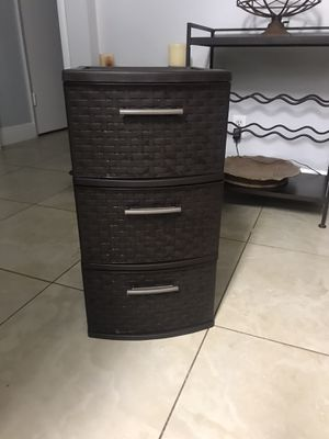 Plastic Drawers for Sale in Fort Lauderdale, FL