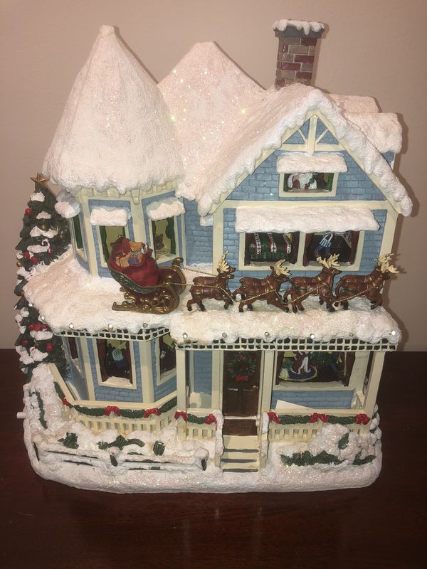 "Thomas Kinkade ""The Night Before Christmas"" Story House"