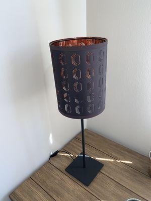 Modern Lamp (Includes Bulb & Lamp Shade) for Sale in Alexandria, VA