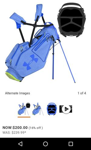 Under armour golf bag for Sale in Villa Park, IL