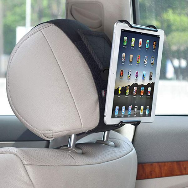 Universal car headrest mount