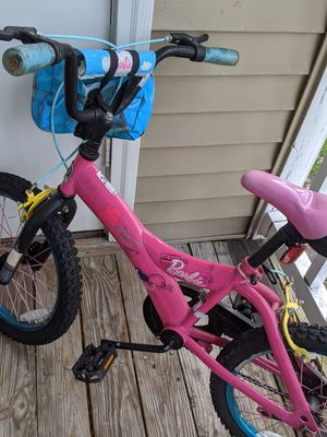 "Girl kids 16"" bike with helmet for Sale in Virginia Beach, VA"