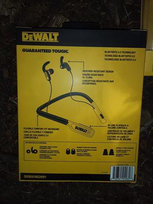 2 sets of Dewalt earbuds for Sale in Federal Way, WA