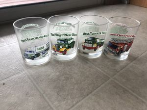 Collectible Hess Truck Glasses- new for Sale in Hampstead, MD