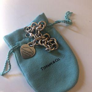 Tiffany's Sterling Silver Heart Bracelet for Sale in Miami, FL