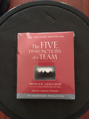 The Five Dysfunctions of a Team $20.00 new never opened for Sale in Pico Rivera, CA