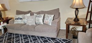 Grayish sofa and love seat for Sale in Victorville, CA