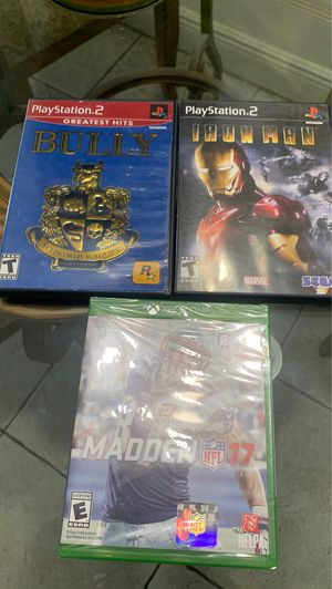 Ps2 and Xbox one game for Sale in Miami, FL