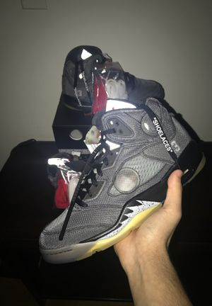 Air Jordan 5 Off White for Sale in Berwyn, IL