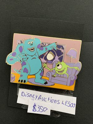 Disney pin Monster Inc. Disney auction for Sale in Lady Lake, FL