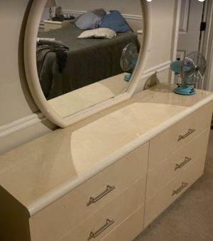 Dresser, mirror, armoire, night stands for Sale in Douglasville, GA