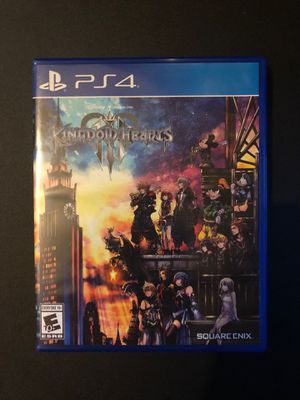 Kingdom Hearts III - PS4 for Sale in Bothell, WA