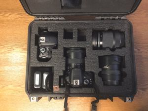 2x Canon SL1 Bodies & 3x Sigma Lenses for Sale in Los Angeles, CA