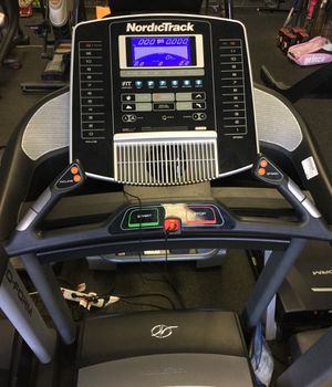 NordicTrack c950 pro heavy duty folding treadmill with only 8 total hours of use for Sale in Phoenix, AZ