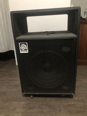"""Amped bass cabinet 2 x 15"""" for Sale in Salinas, CA"""