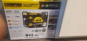 Champion generator duel fuel for Sale in Chillum, MD