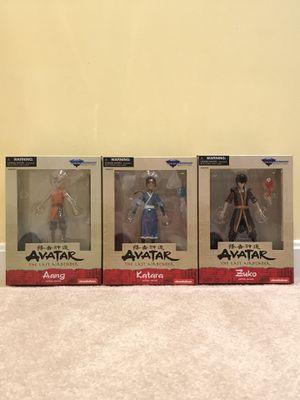 "Diamond Select (2019) Avatar the Last Airbender 5"" Toy Figures Set of 3 - Aang, Katara and Zuko for Sale in Burke, VA"