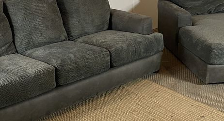 Gray Couch And Chaise Set FREE DELIVERY for Sale in West Chester,  PA