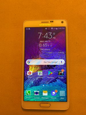 Samsung Galaxy Note 4 (AT&T) for Sale in San Lorenzo, CA