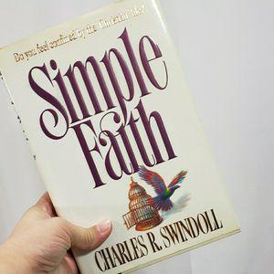 Simple Faith Hardback for Sale in Redmond, WA