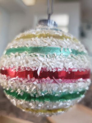 Antique German Christmas decorations glass for Sale in Redlands, CA